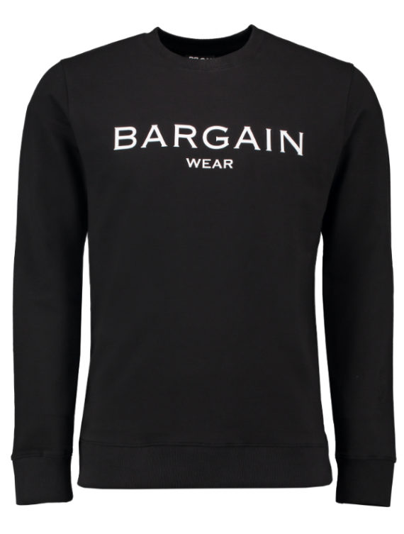 Bargain crewneck BGNOSCN Black / white