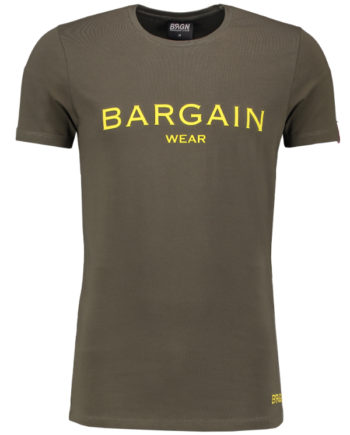 Bargain T-Shirt BGNOSTEE1 Army-Yellow