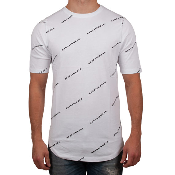 Bargain Allover Tee Wit