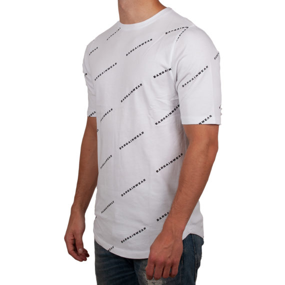 Bargain Allover Tee Wit Side